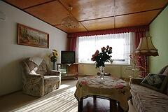 Ferienwohnung Familie Mohr, Himmelpfort: Wohnzimmer